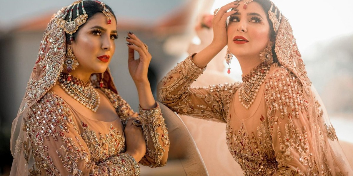 Areeba Habib bridal shoot