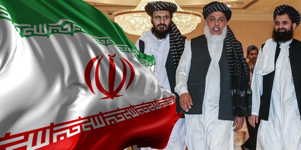 Taliban delegation in Iran