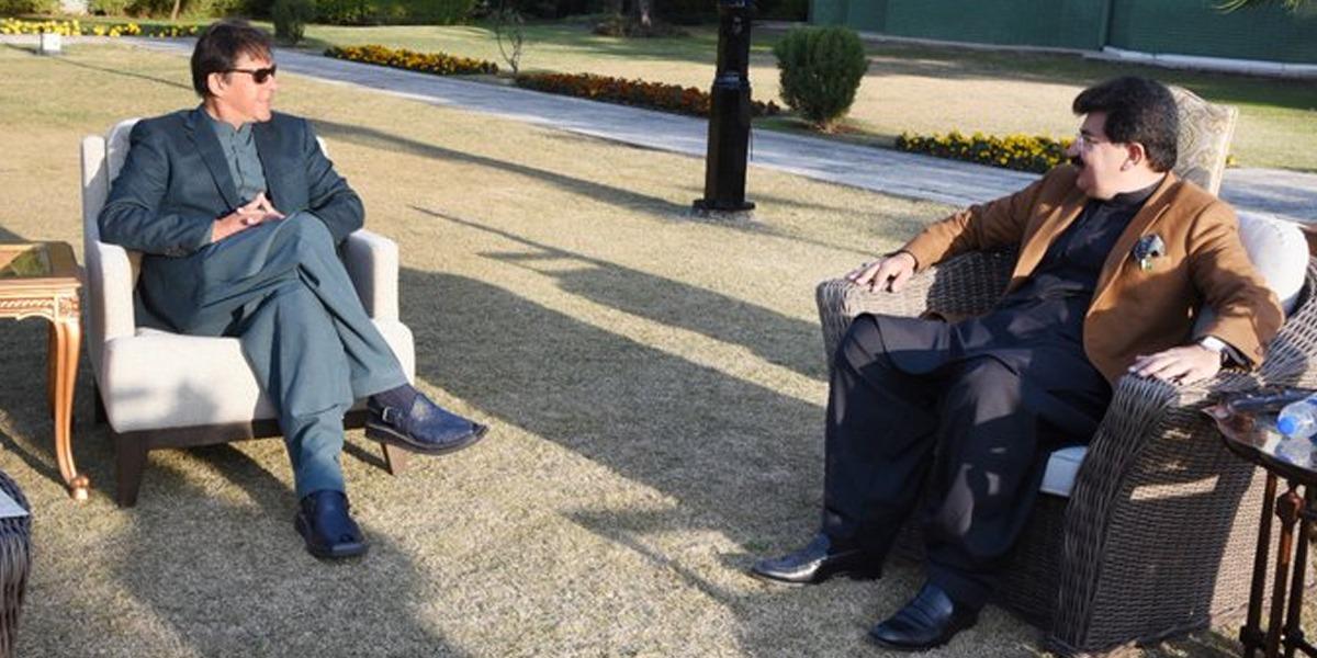 PM meets Sadiq Sanjrani