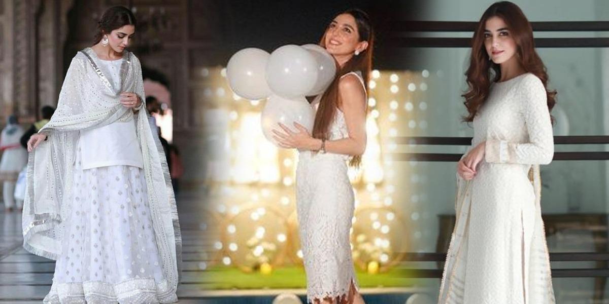 Maya Ali in White