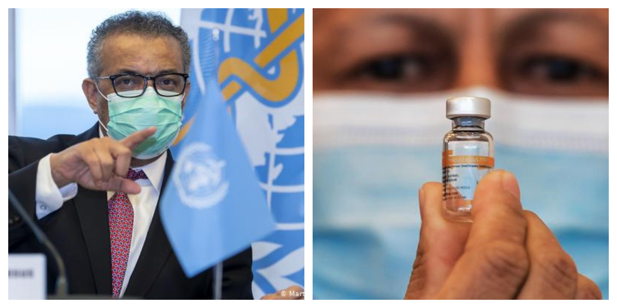 WHO To Provide 40 Million Doses Of COVID Vaccine To Poor Countries