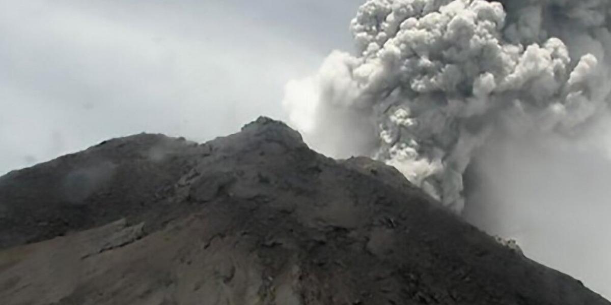 Indonesia: Volcano Eruption Spews Ash Clouds, Unleashes Lava River
