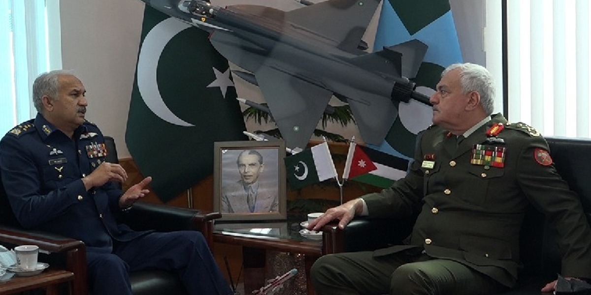 Jordanian Joint Chiefs of Staff Offers PAF Full Cooperation In Various Field