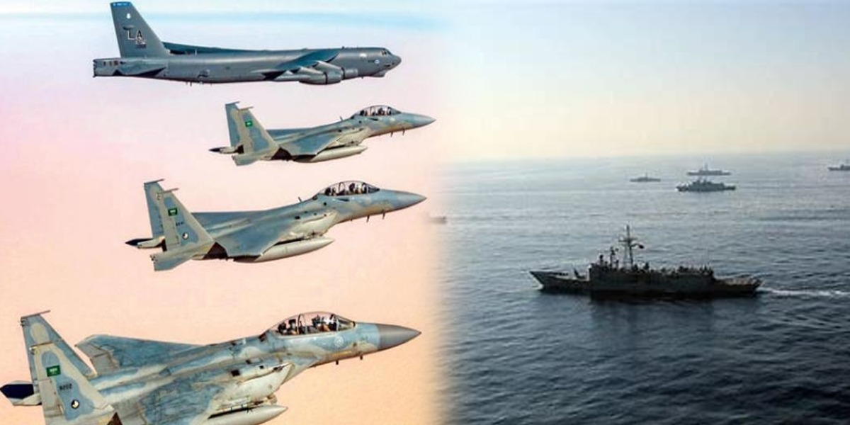 Joint US-Saudi Naval Exercises Concludes, Air Force Exercises Launched