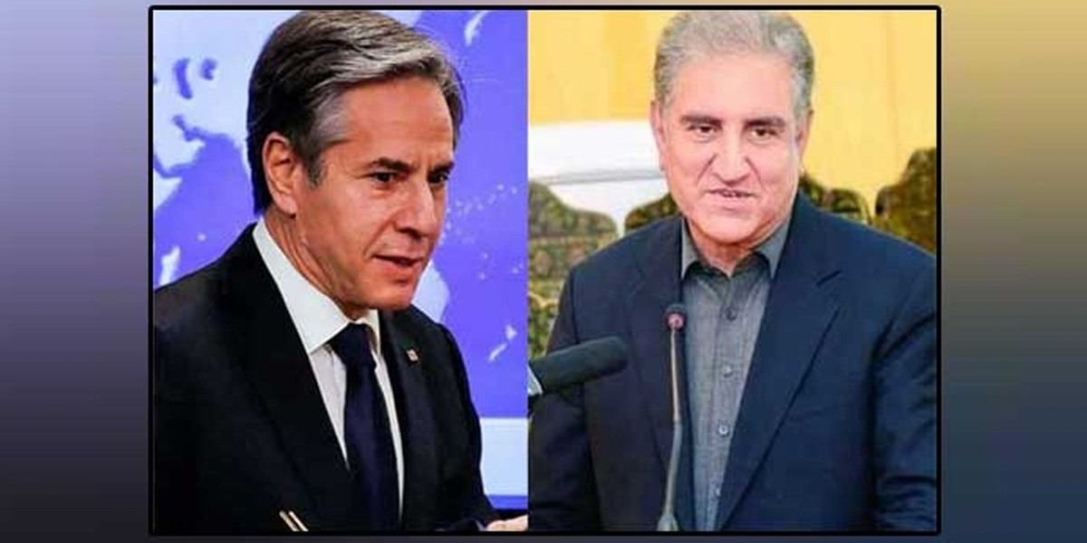 FM Qureshi, US Secretary of State Agreed To Make Joint Efforts To Promote Bilateral Relations
