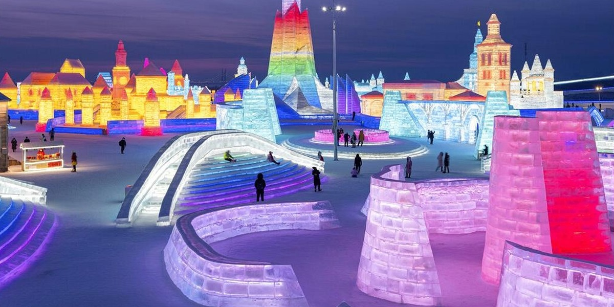 China: See The Glimpse Of World's Largest Ice And Snow Festival