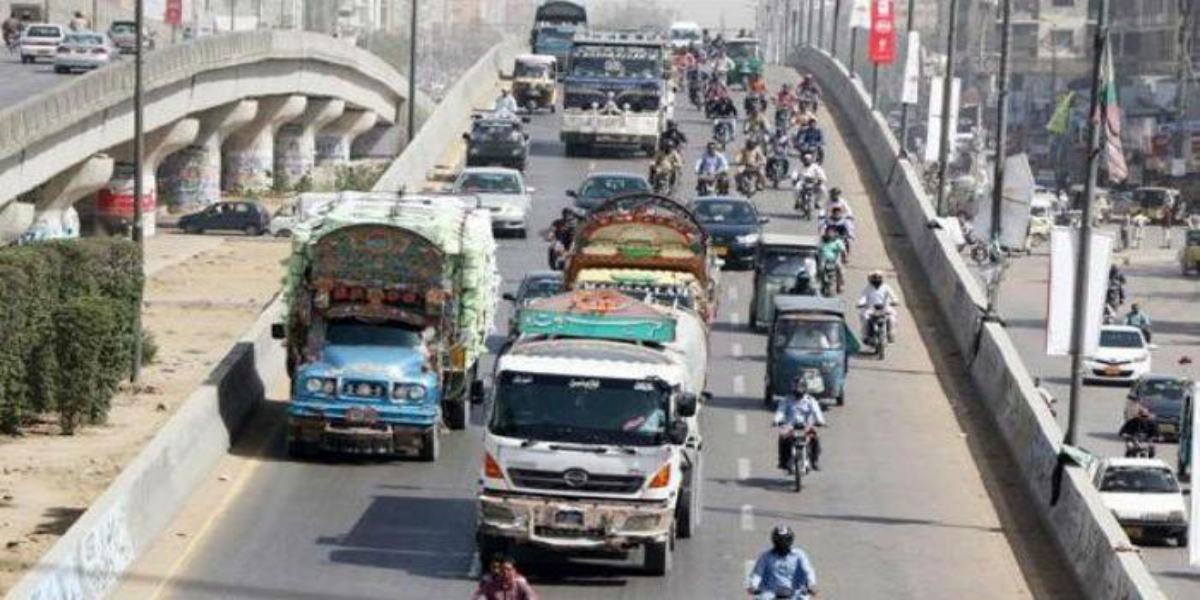 Karachi Traffic Police Issues Traffic Diversion Plan Amidst Protest