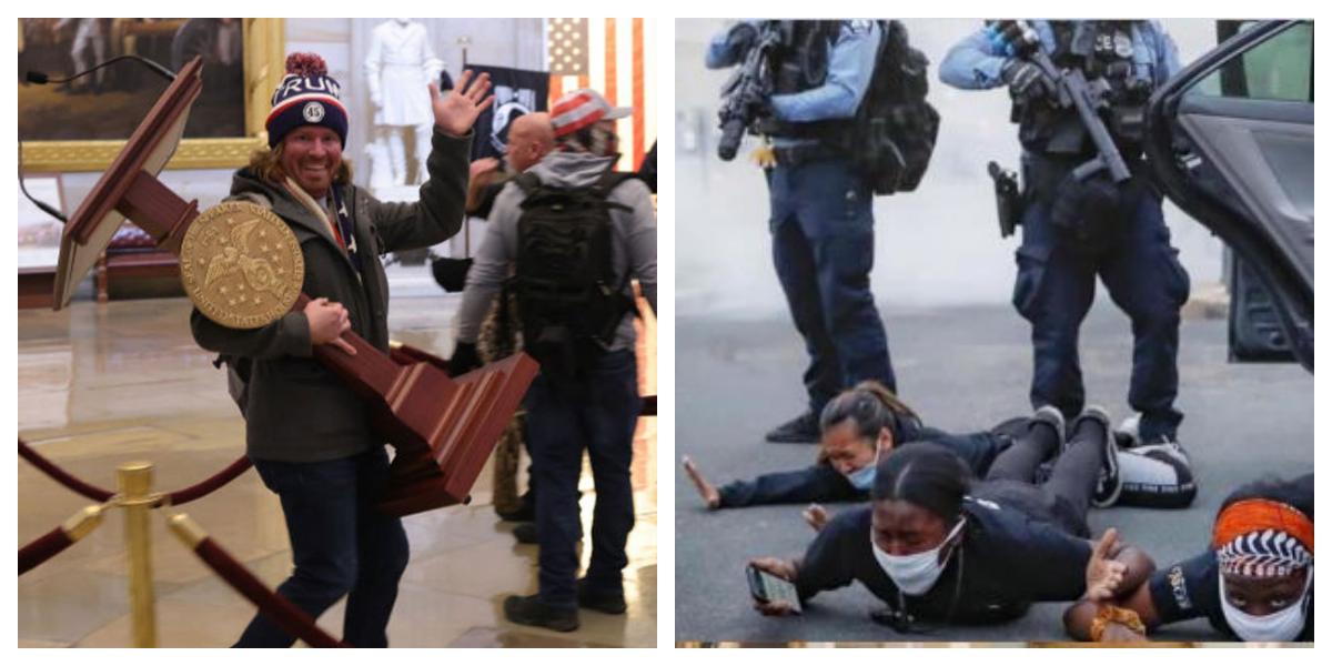 Capitol Riots: Visible Racial Discrimination Fumed Netizens