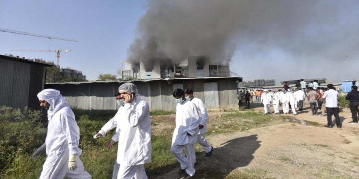 India: 5 Kill As World's Biggest Vaccine Maker Catches Fire