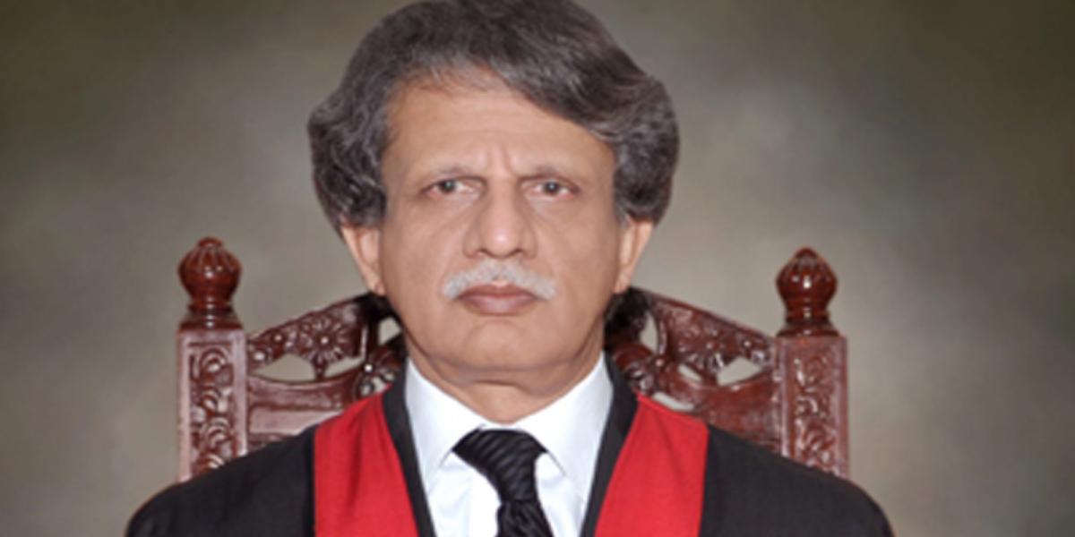 Justice (retd) Azmat Saeed