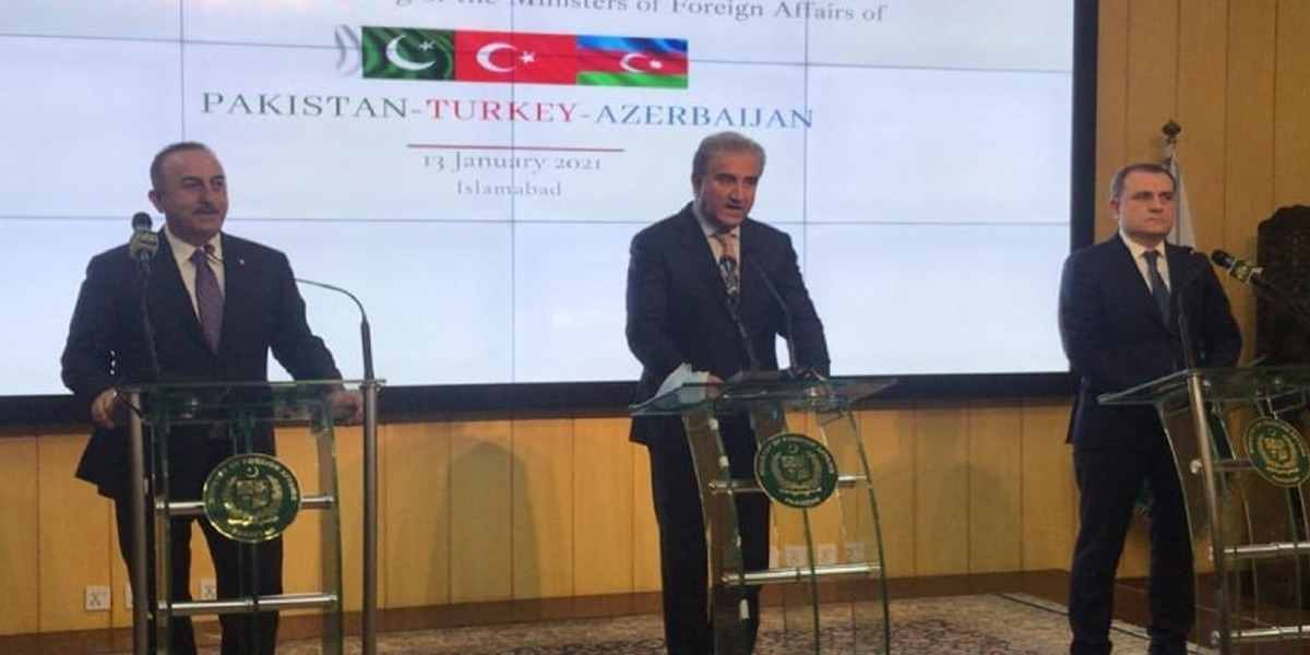 Pakistan, Turkey, Azerbaijan Pledge To Promote Mutual Cooperation In Various Fields
