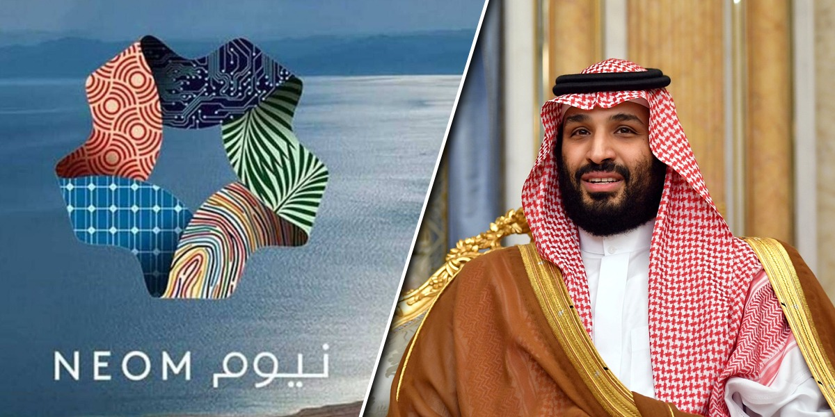 Mohammed bin Salman announces THE LINE at NEOM