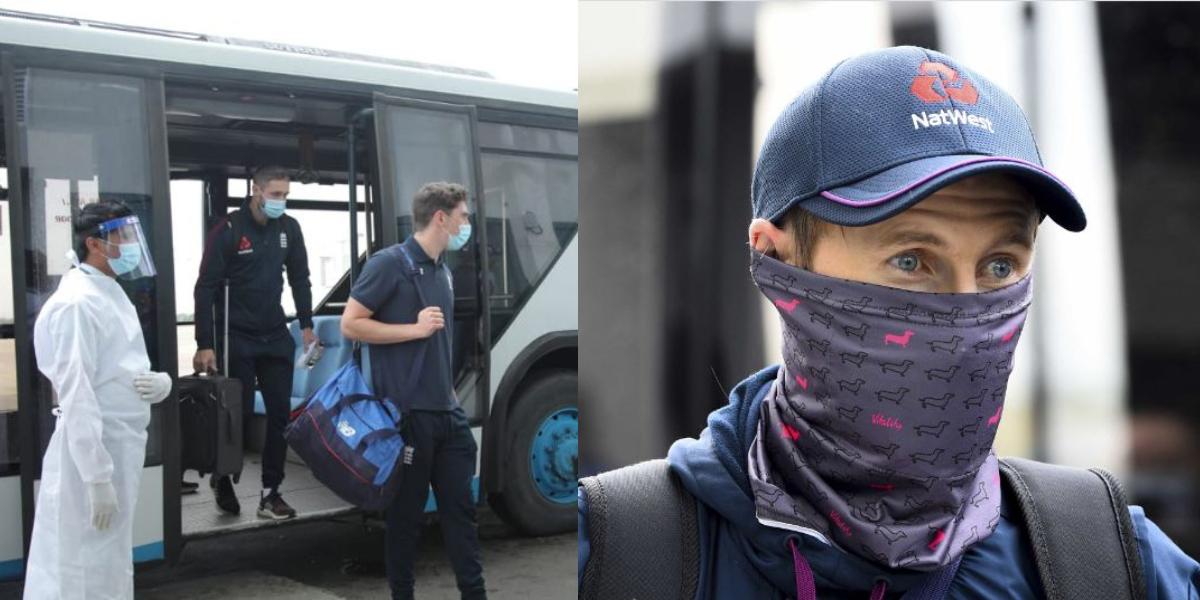 England team arrives Sri Lanka