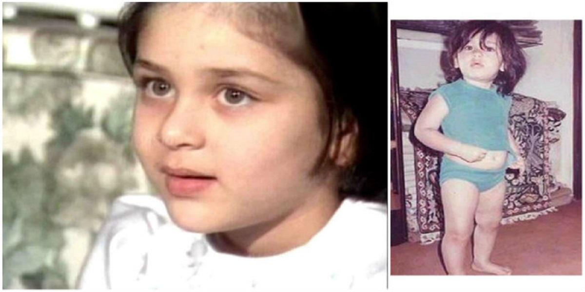 Kareena Kapoor childhood pictures