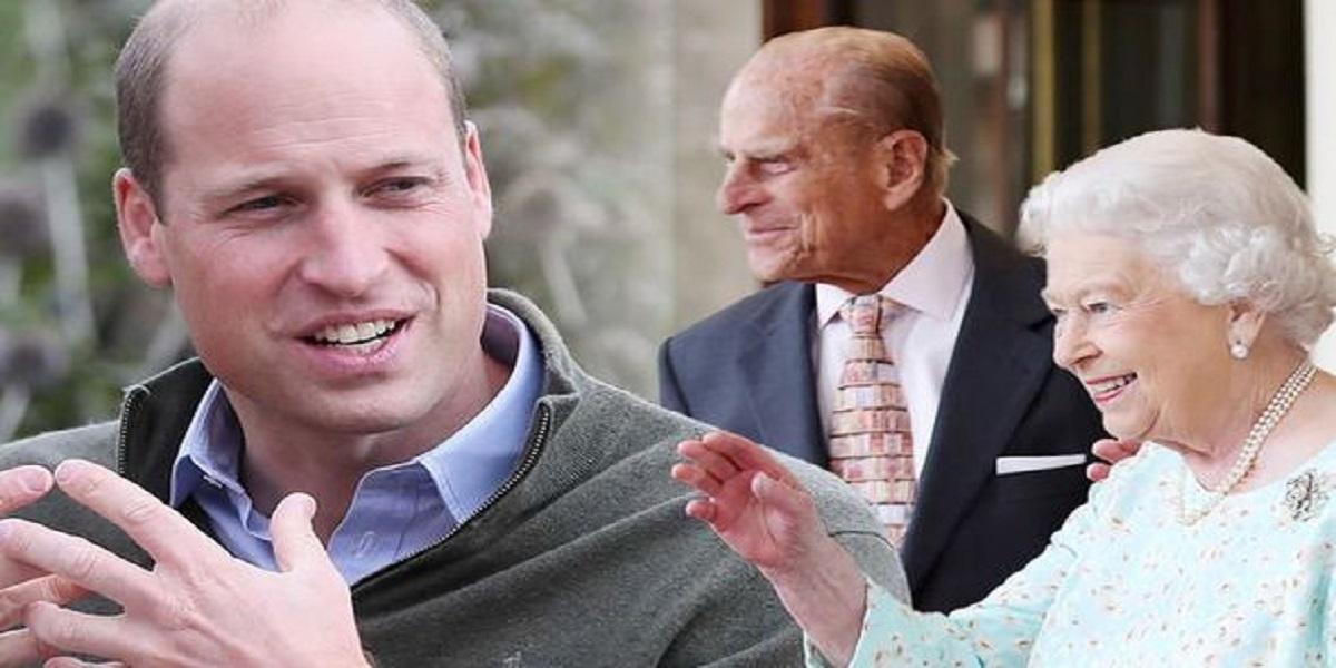 Prince William Prince Philip Queen Elizabeth