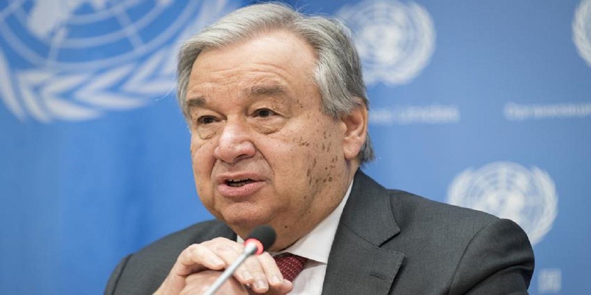 UN Chief Gaza atrocities