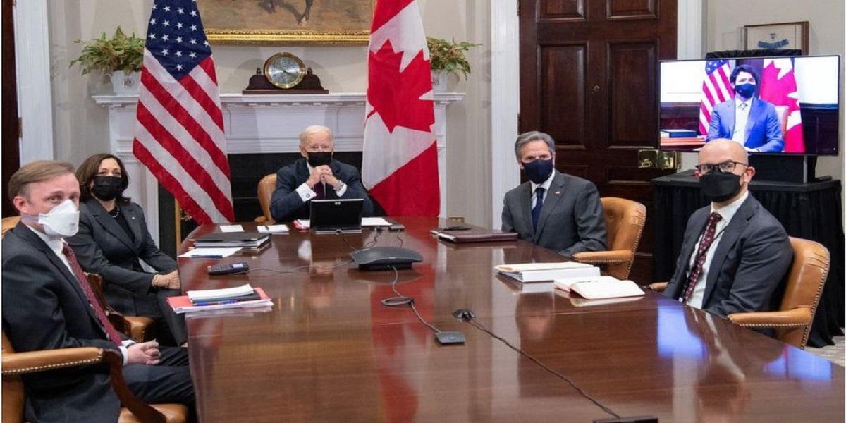 Justin Trudeau Biden