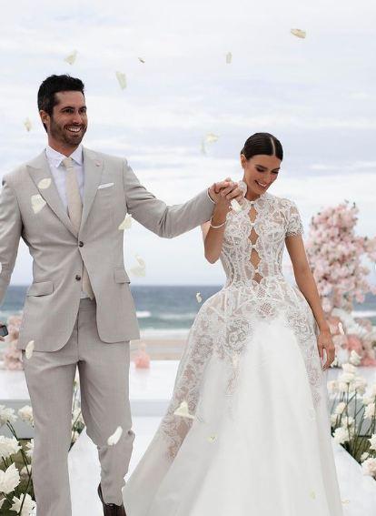 Ben Cutting Erin Holland wedding