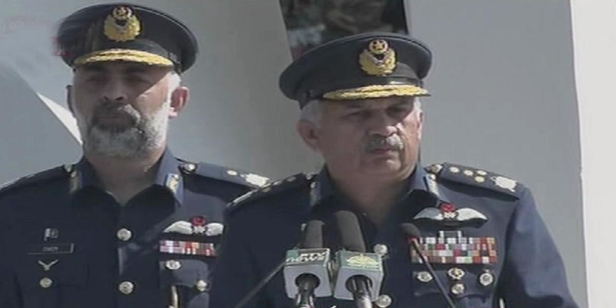 Air Chief Operation Swift Retort peace