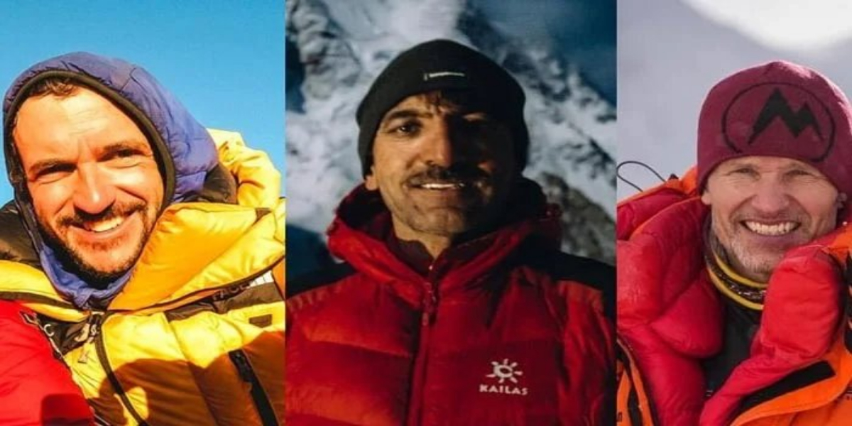 Ali Sadpara and other climbers missing