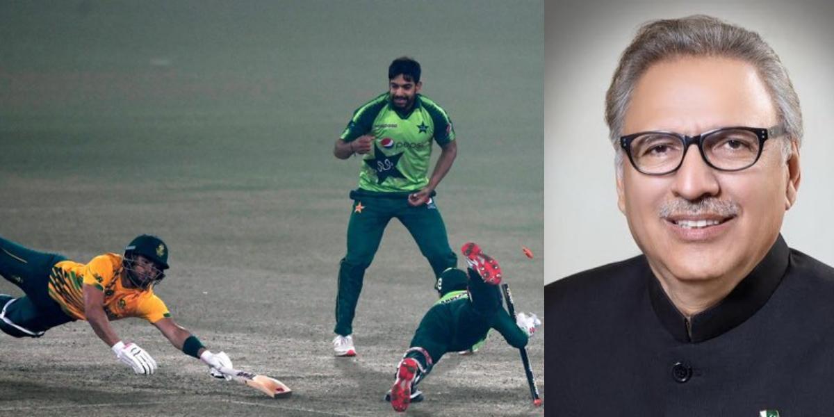 President Pakistan wins by 3 runs
