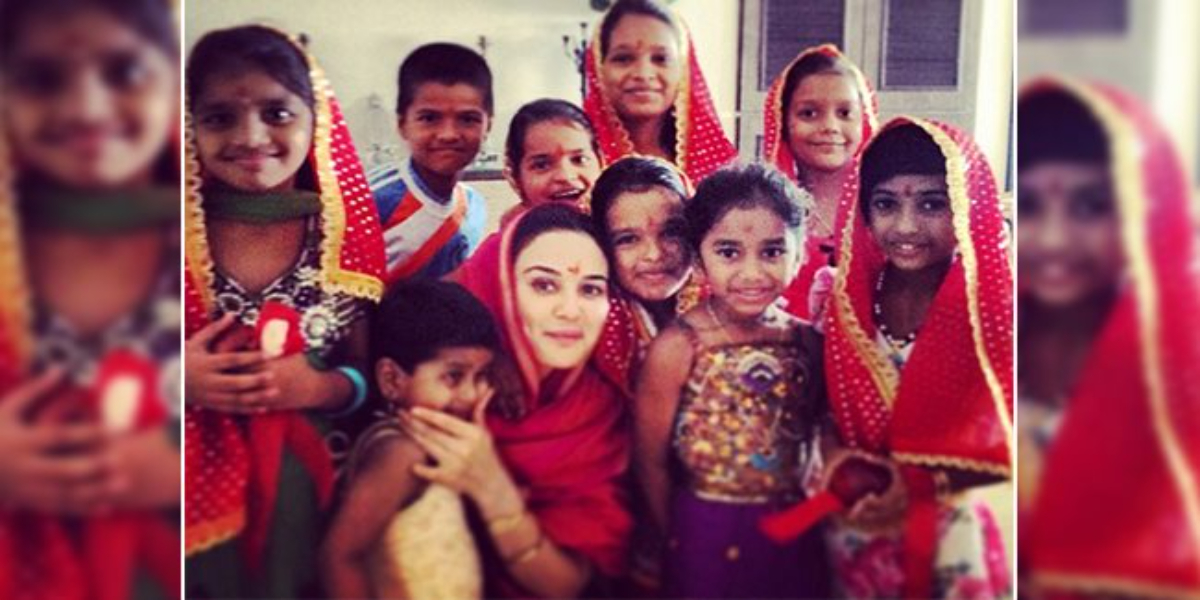 Preity Zinta 34 daughters