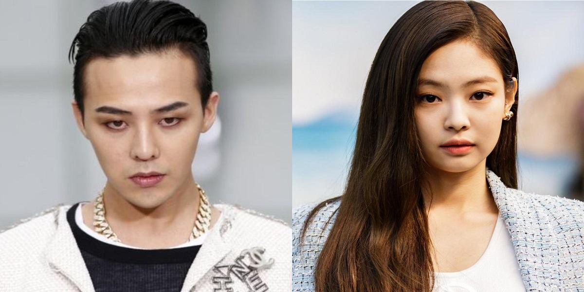 Blackpink's Jennie and BIGBANG's G-Dragon
