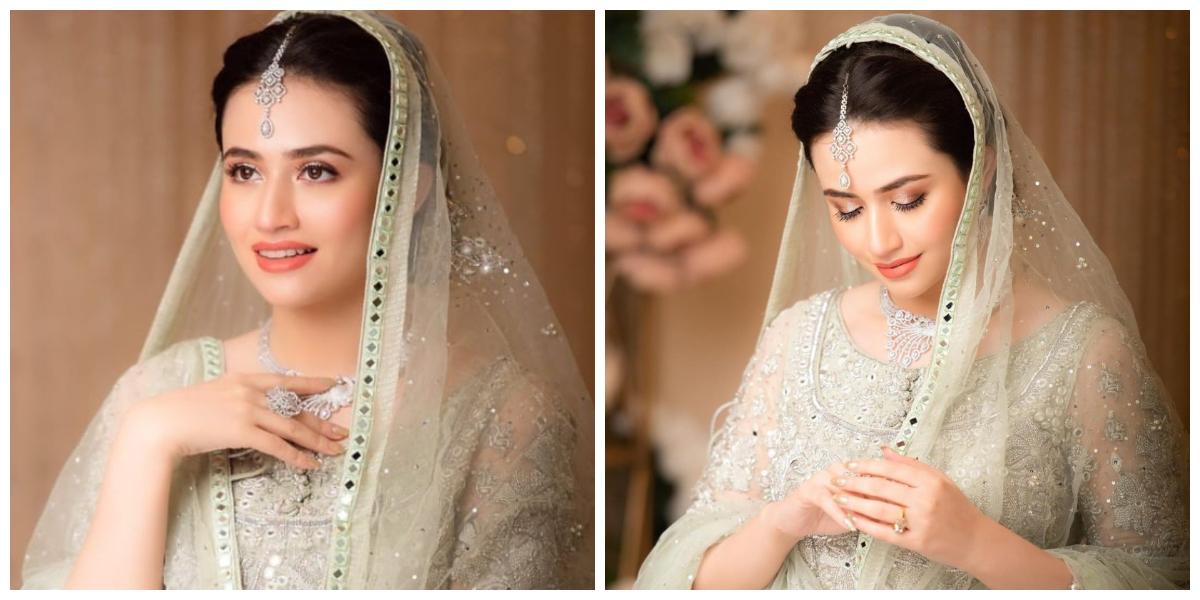 Sana Javed bridal