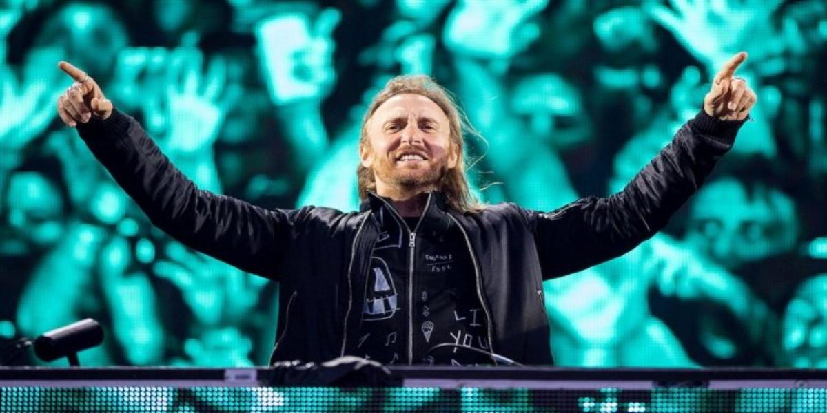 David Guetta Burj Al Arab's helipad