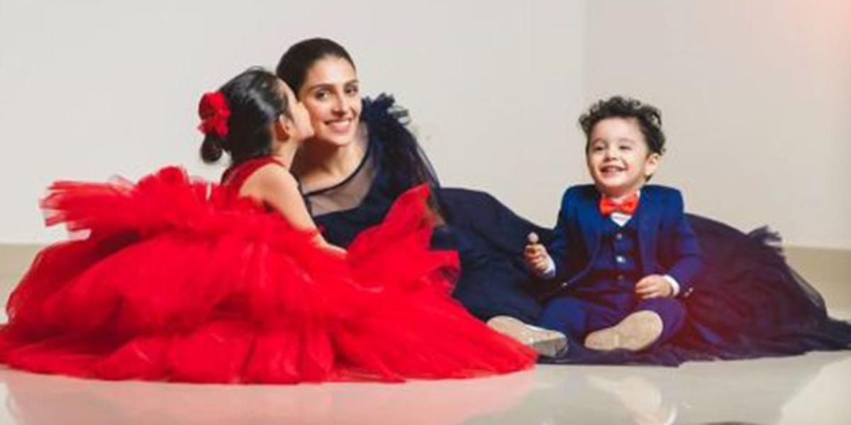 Ayeza Khan's son