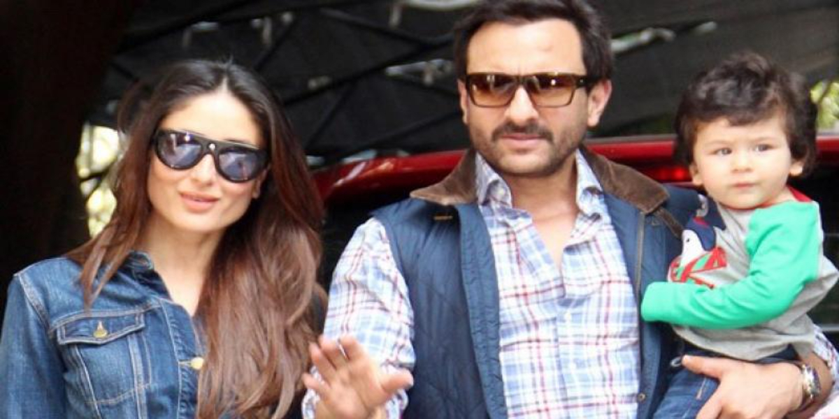 Saif Ali Khan and Kareena's second child
