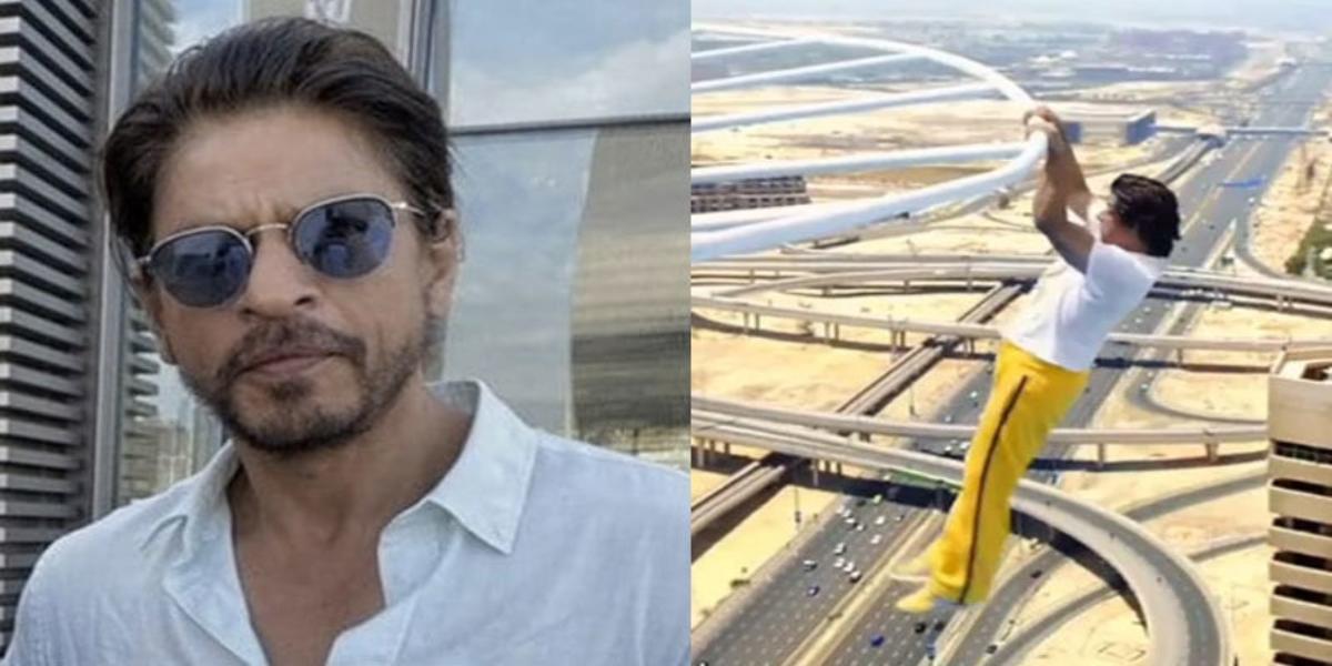 Shah Rukh Khan stunt