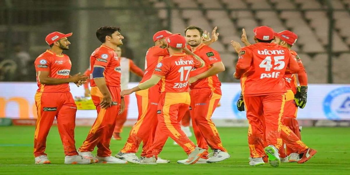 Islamabad United wins against Multan Sultans