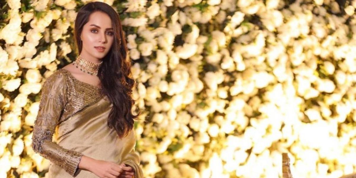 Nimra Khan saree