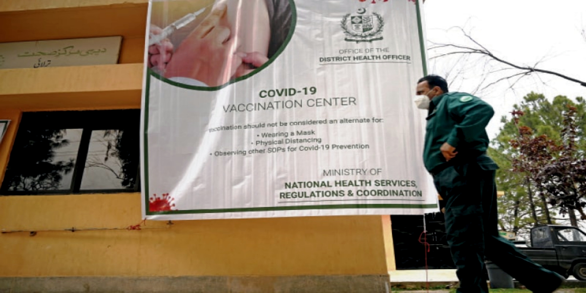 Pakistan COVID-19 vaccination drive