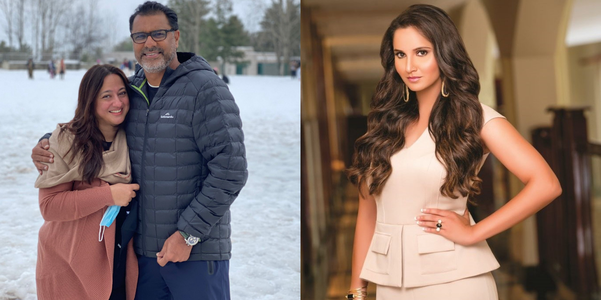 Wife of Waqar Younis wishes 'Happy Anniversary', Sania Mirza Is in Awe of Their Love