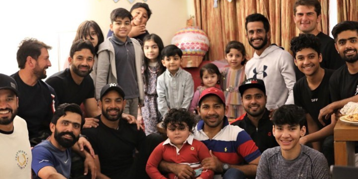 Sarfaraz Ahmed's son birthday
