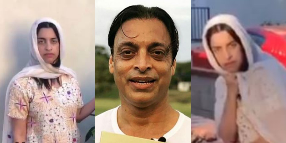 Netizens find Shoaib Akhtar's look alike in a female; Take a look!