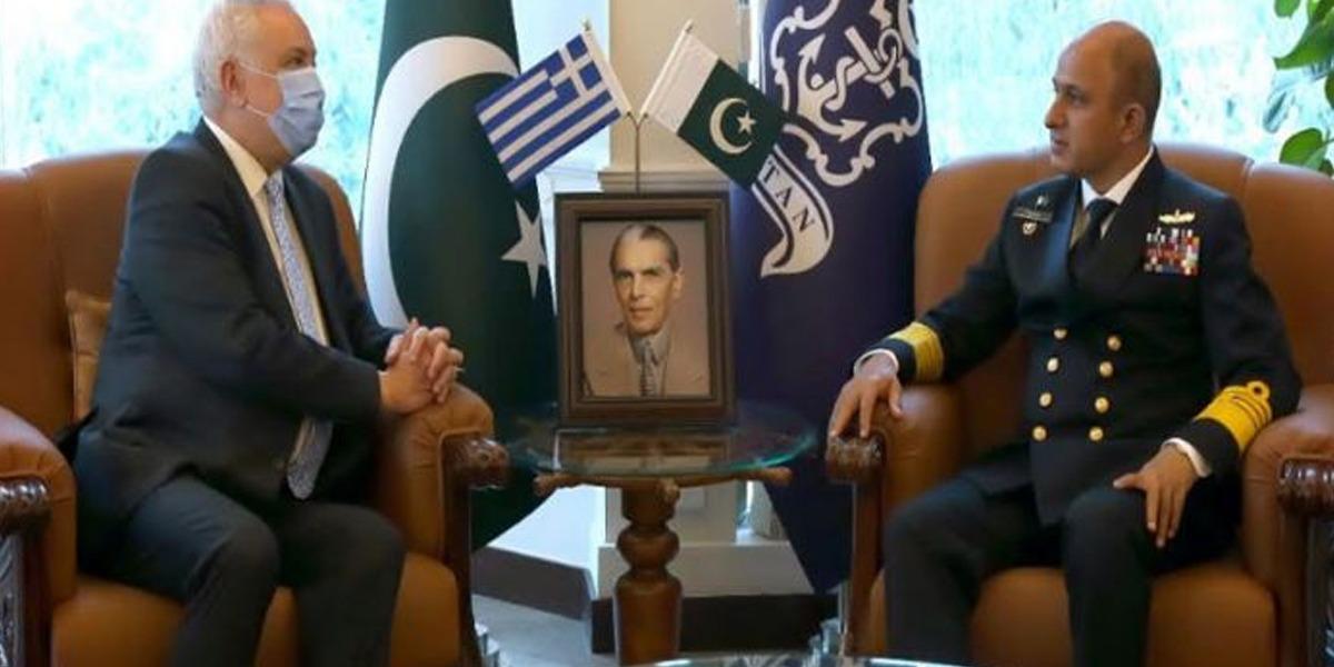 Greek ambassador meets Amjad Niazi