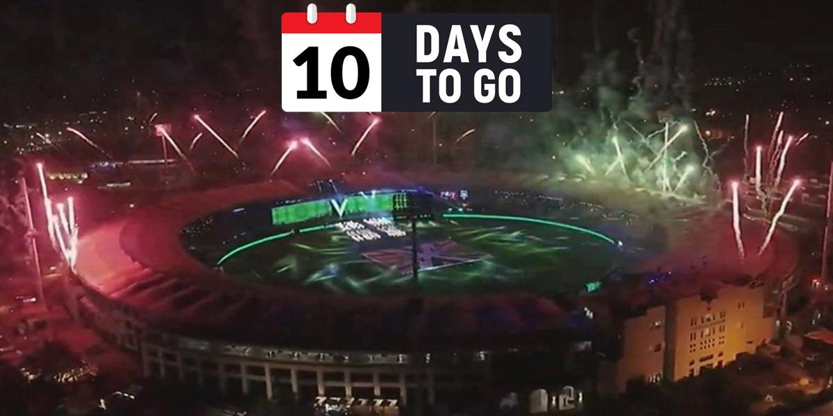 PSL 2021 countdown ceremony