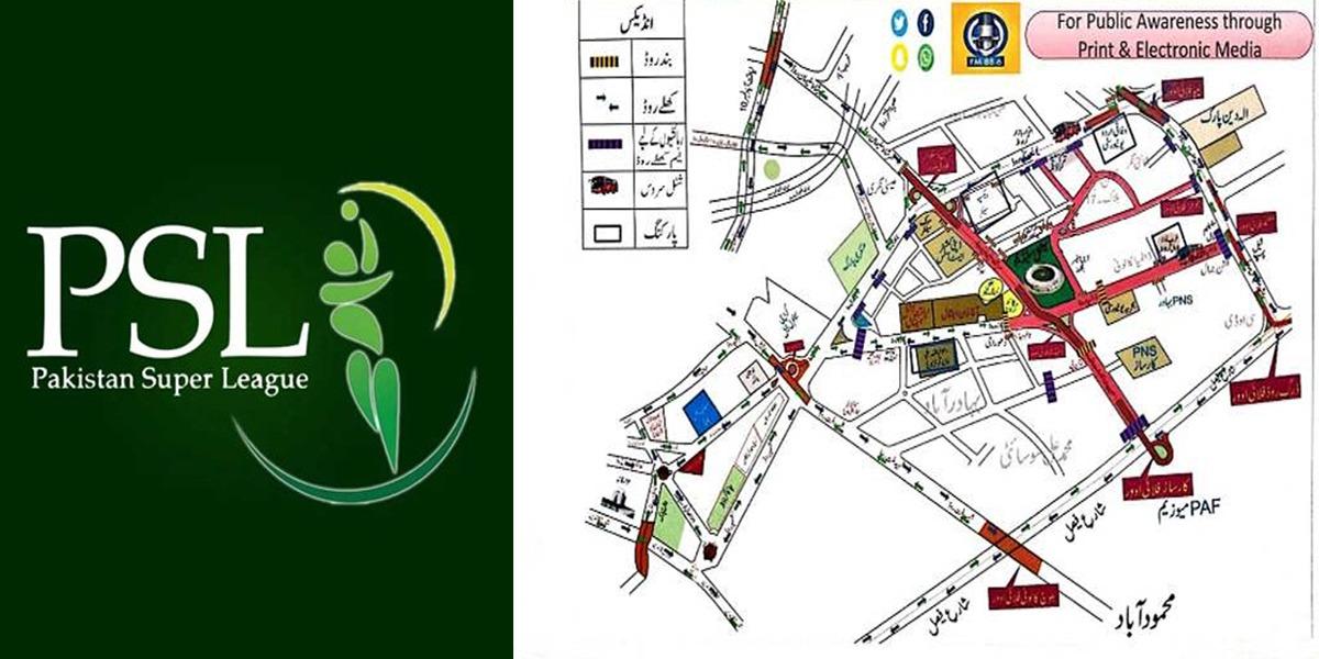 Karachi traffic plan for PSL 6