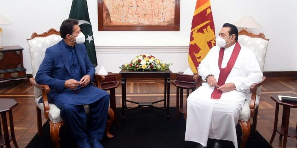 PM Imran in Sri Lanka