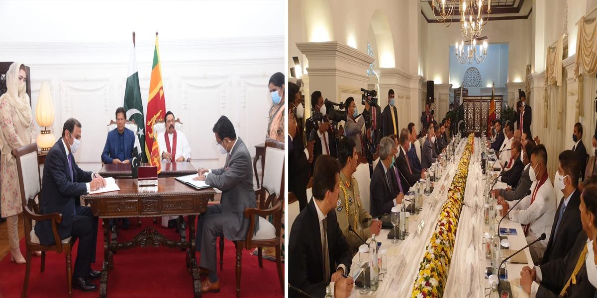 Pakistan Sri Lanka MOUs