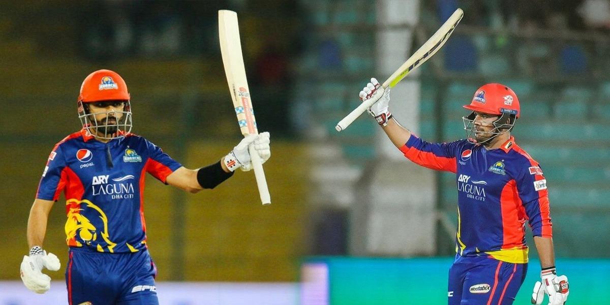 Karachi Kings Sharjeel Babar Highest PSL partnership