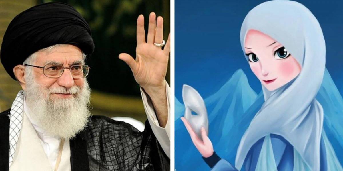 Khamenei edicts Hijab for female cartoons