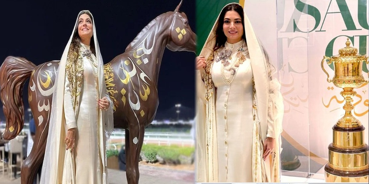 Saudi Arabia: Women's Fashion Are Centre Of Attention At World's Richest Horse Race