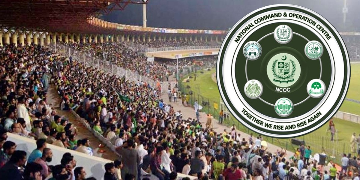 NCOC Allows Spectators Up to 50% Capacity In PSL 6