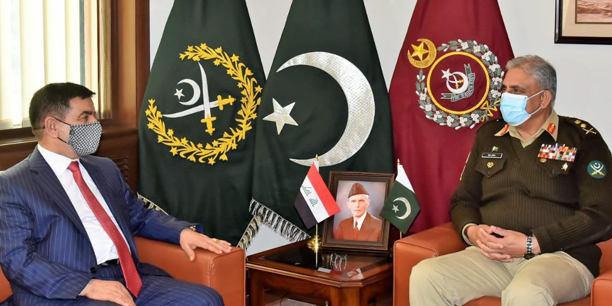 Pakistan, Iraq Reaffirms Determination To Work Together For Enhancing Security