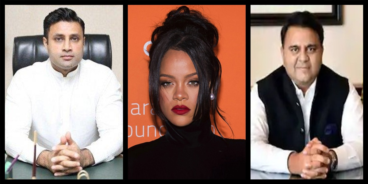 Federal Minister, SAPM Praise Rihanna After She Drew Attention To Indian Farmers' Protest