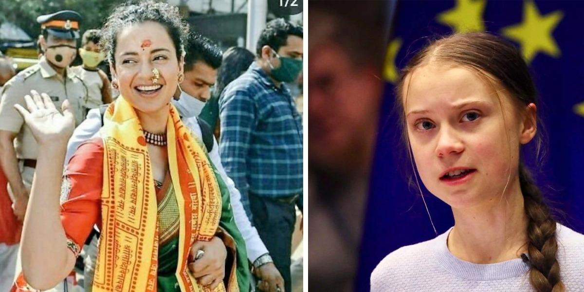 Kangna Calls Greta Thunberg 'Dumbo Kid' But She Has A Classy Reply